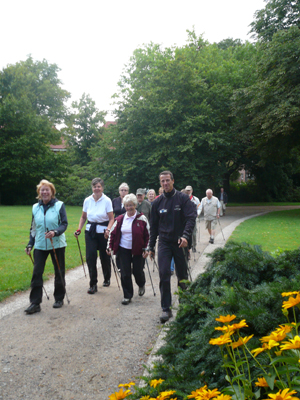 Nordic Walking im Lüneburger Kurpark